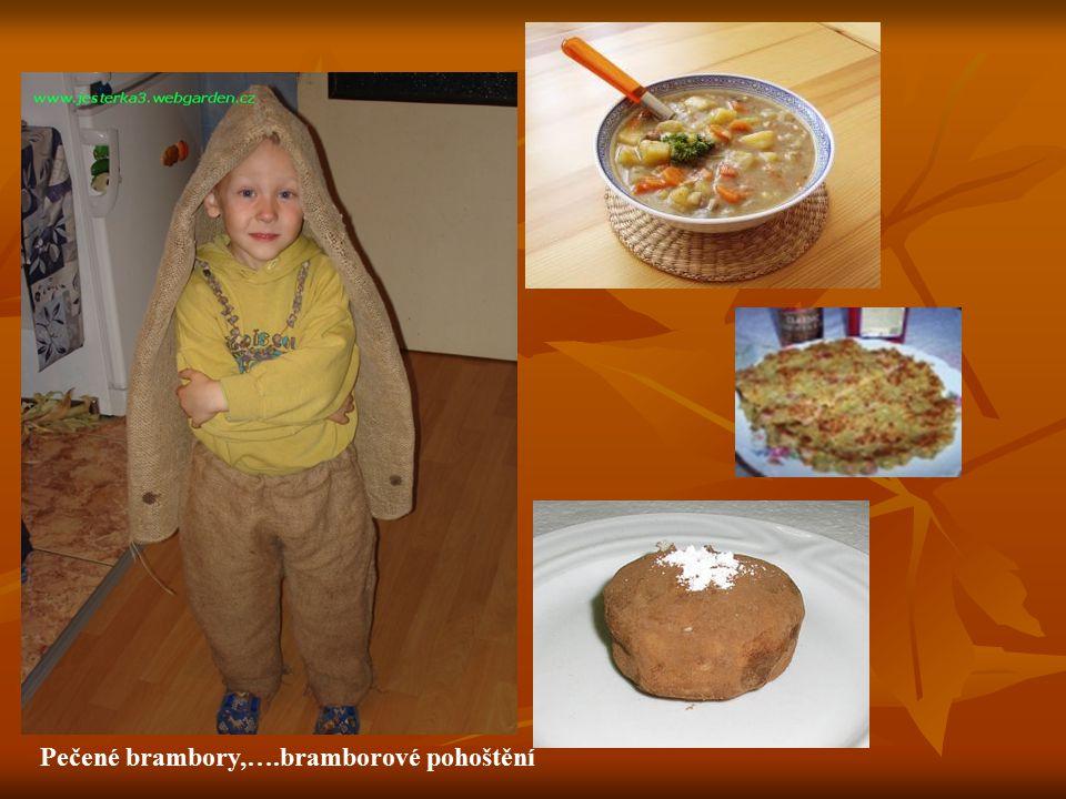Pečené brambory,….bramborové pohoštění