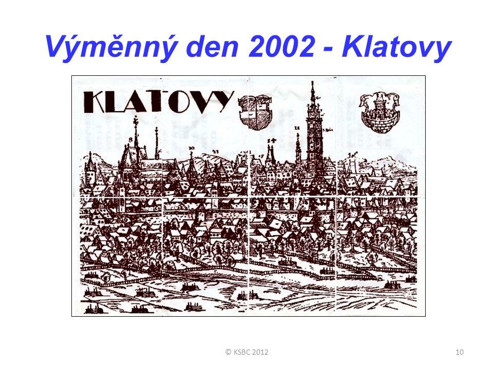 Výměnný den 2002 - Klatovy © KSBC 201210
