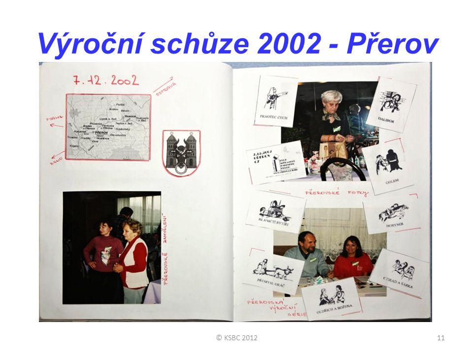 Výroční schůze 2002 - Přerov © KSBC 201211