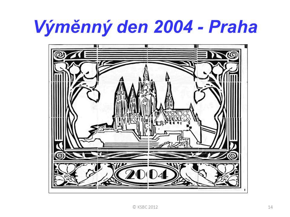 Výměnný den 2004 - Praha © KSBC 201214