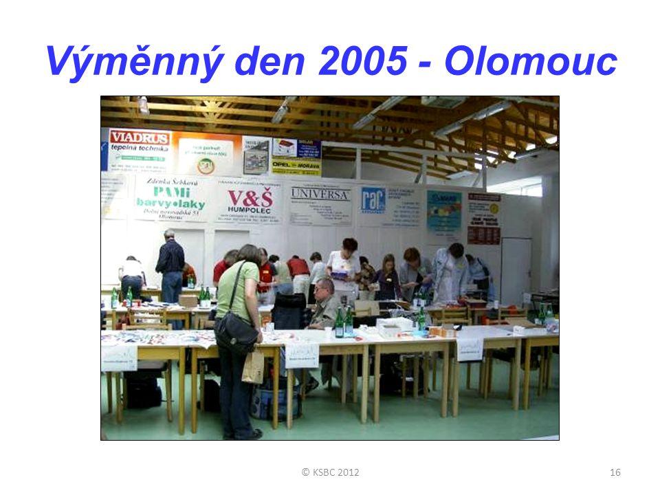 Výměnný den 2005 - Olomouc © KSBC 201216