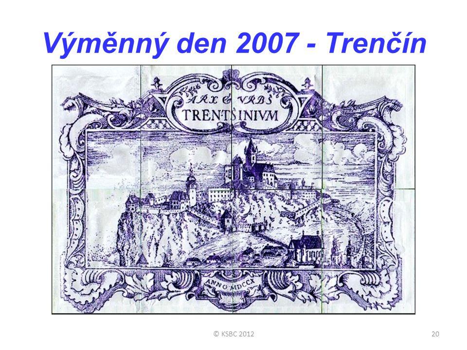 Výměnný den 2007 - Trenčín © KSBC 201220