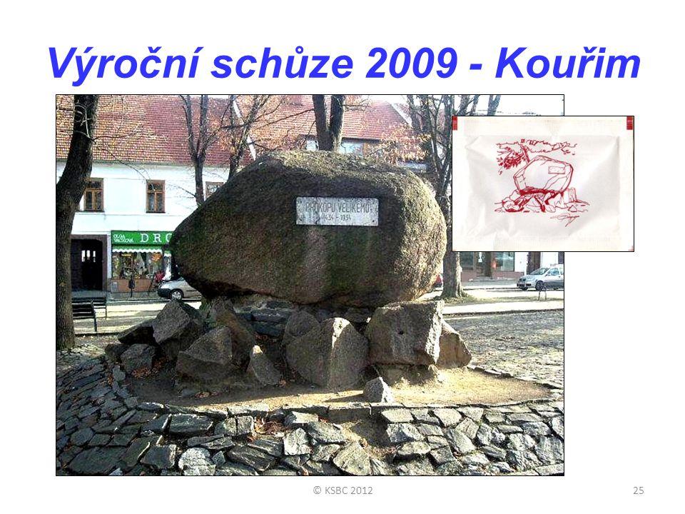 Výroční schůze 2009 - Kouřim © KSBC 201225