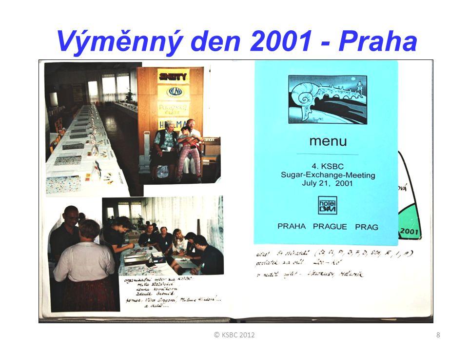 Výměnný den 2001 - Praha 8© KSBC 2012