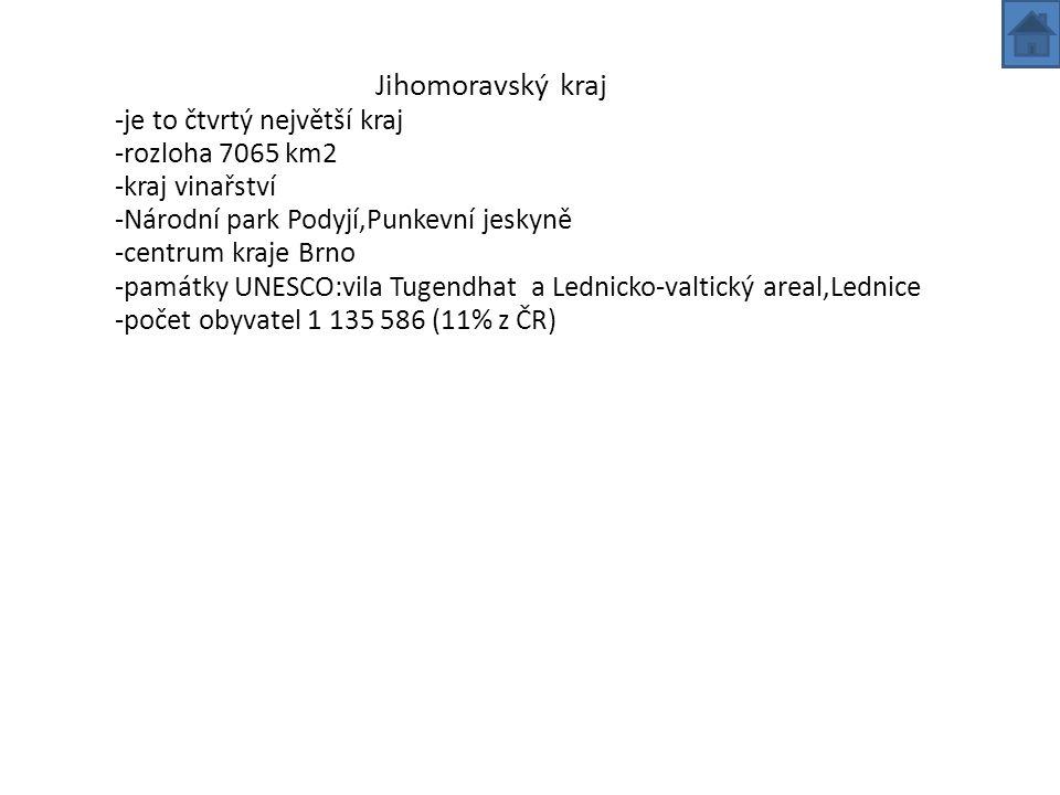Zdroje:internet www.jihomoravsky.kraj.cz, www.turistickyruch.czwww.jihomoravsky.kraj.czwww.turistickyruch.cz
