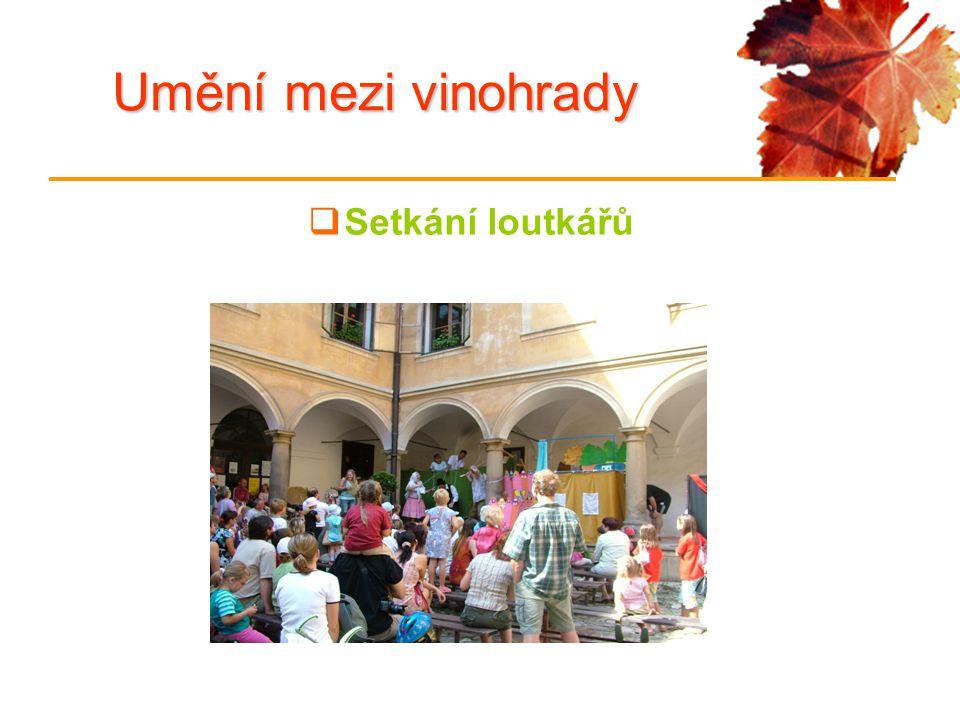 Umění mezi vinohrady  Setkání loutkářů