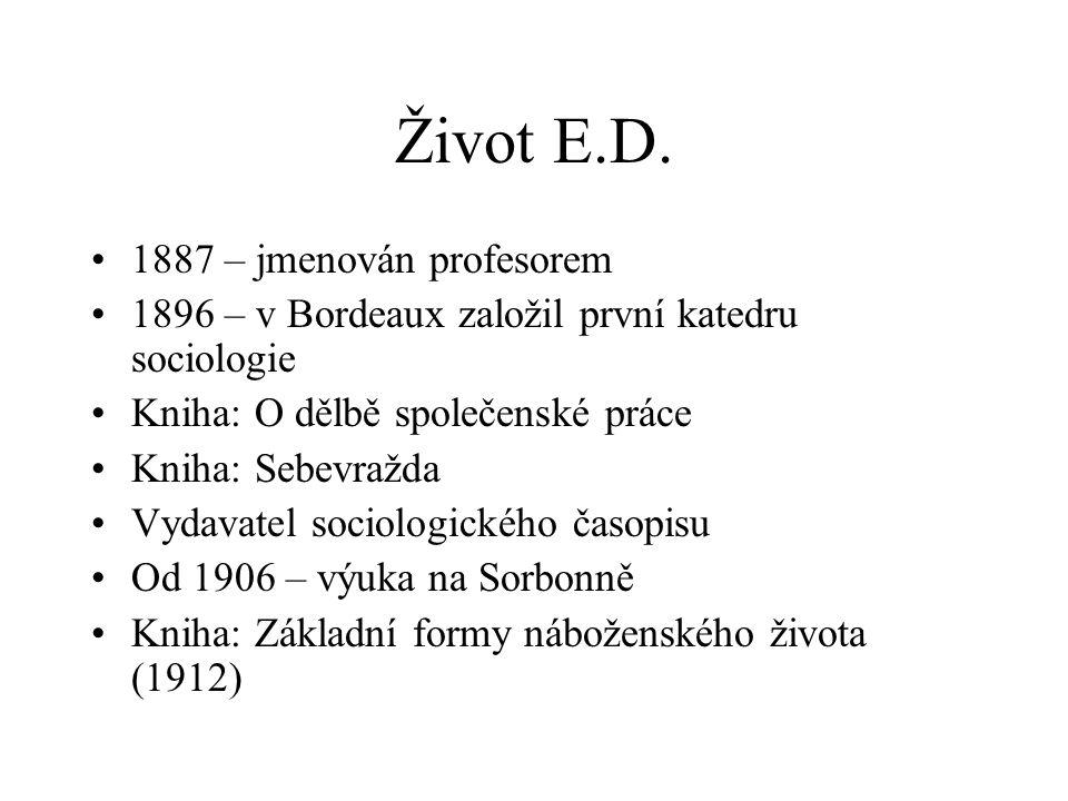 Život E.D.
