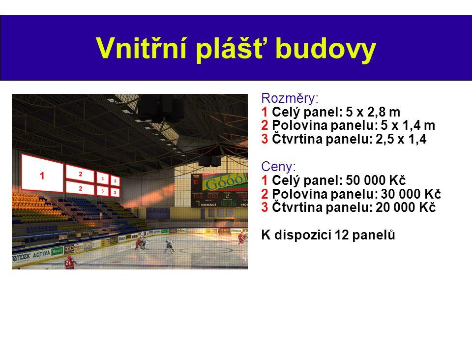 Název stadionu Rozměry: 12 x 2,5 m Cena: 300 000 Kč