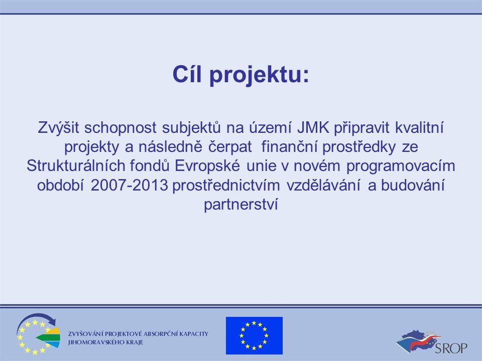 6.Zřízení webových stránek projektu www.partnerstvi-jmk.cz od 1.9.2005 7.