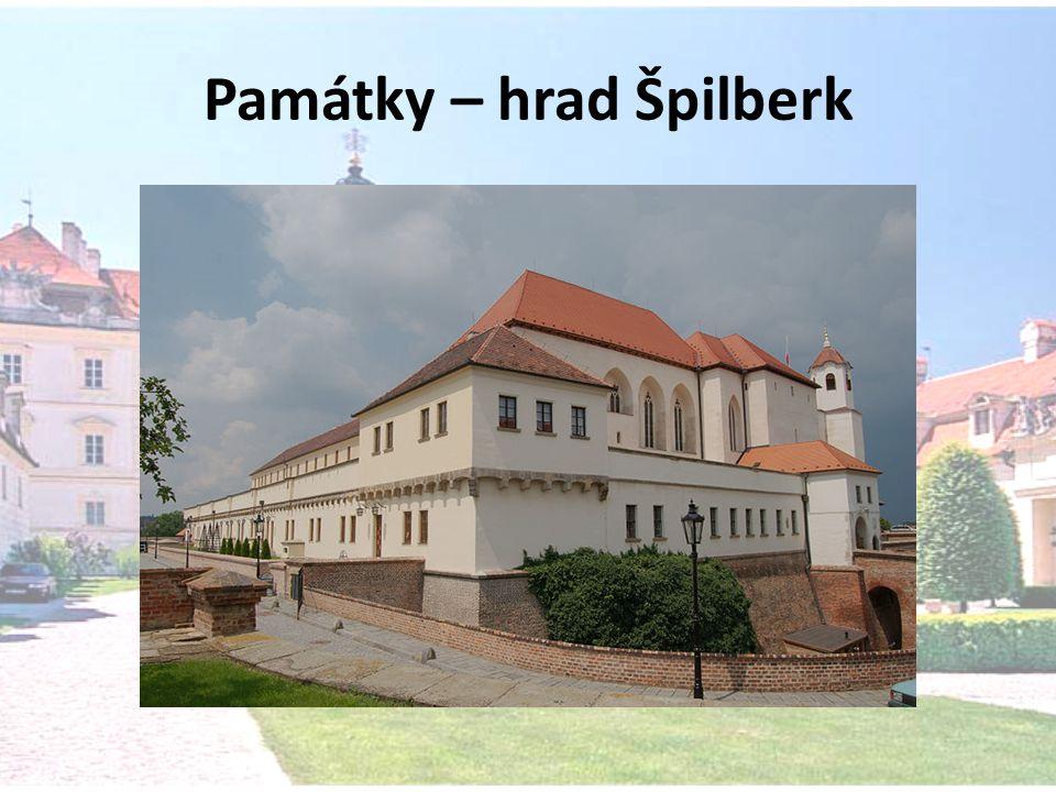 Památky – hrad Špilberk
