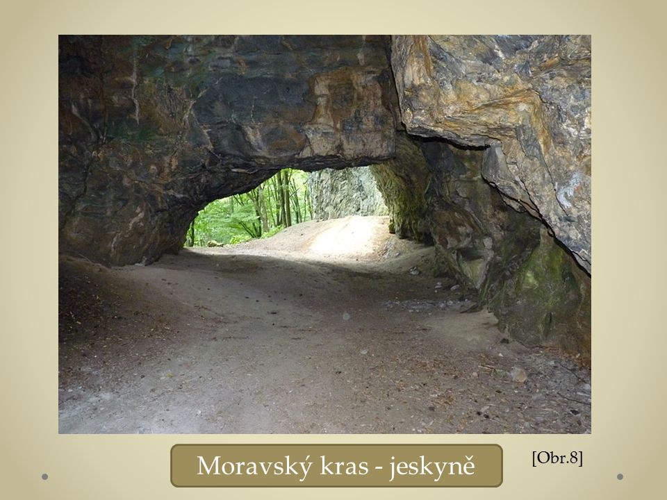 Moravský kras - jeskyně [Obr.8]