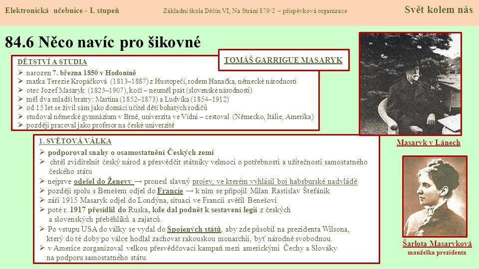 84.7 CLIL Elektronická učebnice - I.