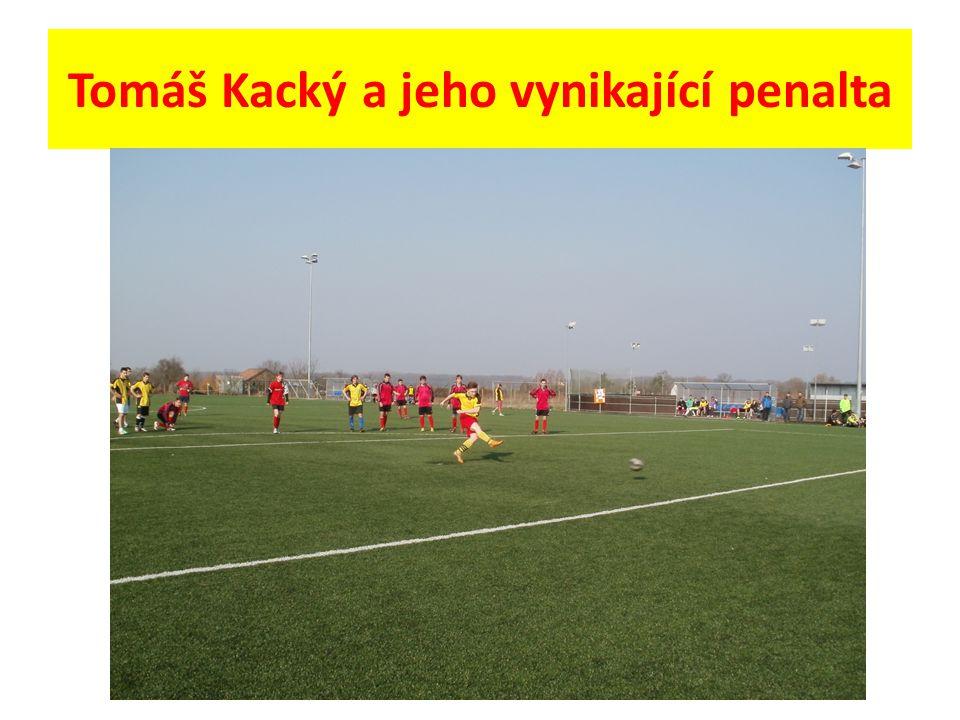 Tomáš Kacký a jeho vynikající penalta