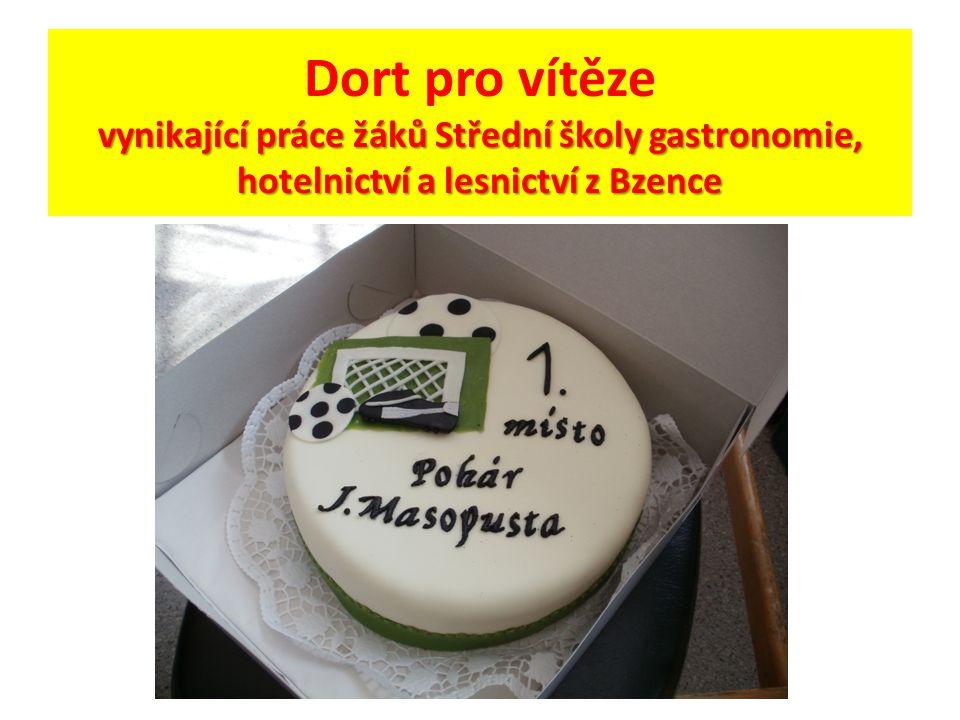 vynikající práce žáků Střední školy gastronomie, hotelnictví a lesnictví z Bzence Dort pro vítěze vynikající práce žáků Střední školy gastronomie, hotelnictví a lesnictví z Bzence