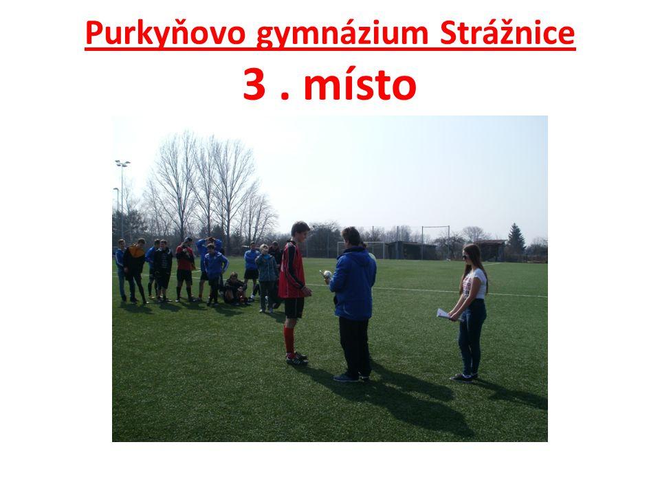Purkyňovo gymnázium Strážnice 3. místo