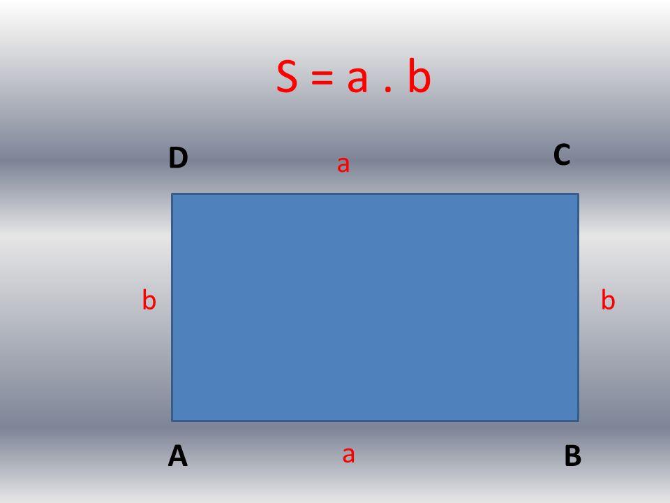 AB C D a a bb S = a. b