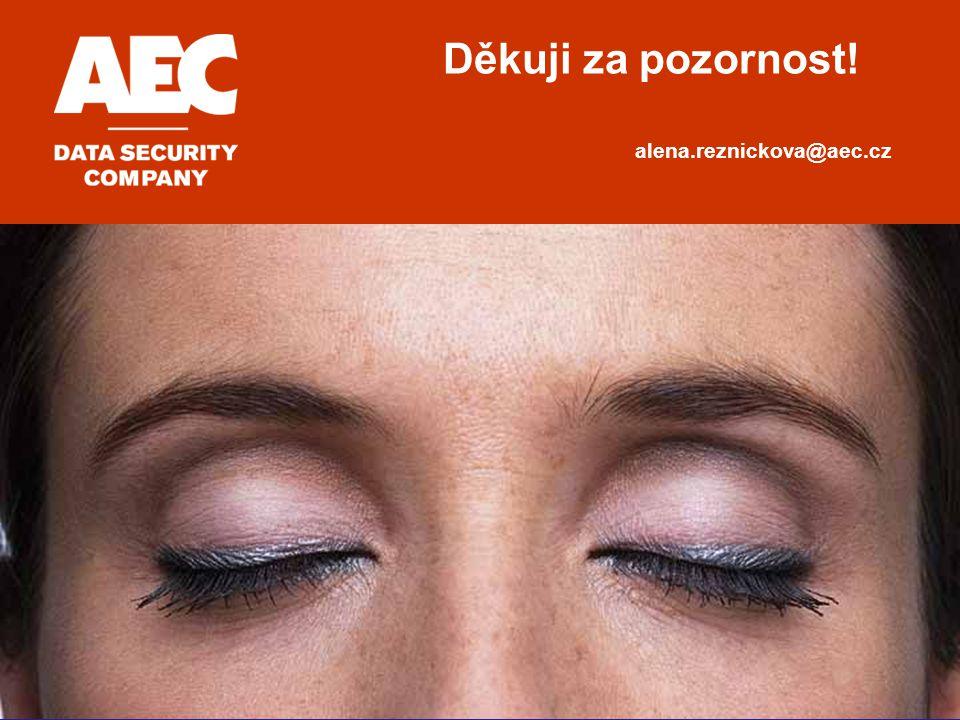 Děkuji za pozornost! alena.reznickova@aec.cz