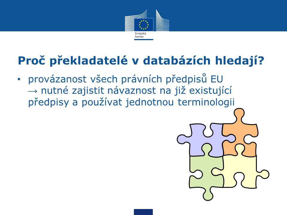 """Terminologická jednotnost uvnitř jednoho textu v souvisejících dokumentech (""""balících ), které jsou překládány současně v navazujících dokumentech nařízení, kterým se mění nařízení…, zpráva o provádění směrnice… v rámci dokumentů ze stejné oblasti v rámci všech dokumentů EU s jinými dokumenty (právními předpisy ČR, technickými normami, leteckými předpisy)"""