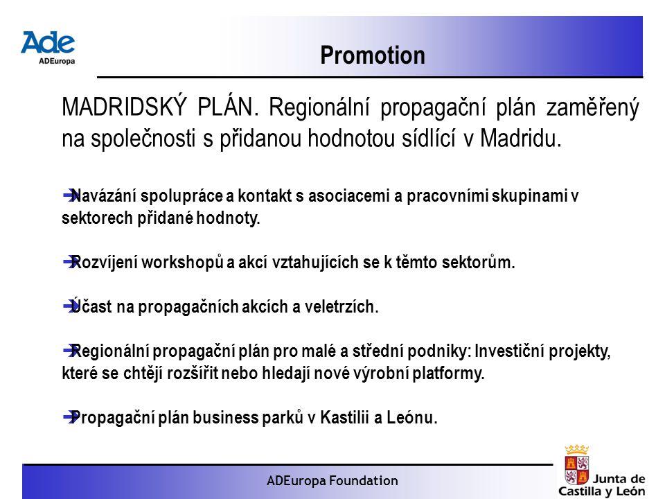 Proyecto: La foca monje ADEuropa Foundation Promotion MADRIDSKÝ PLÁN.