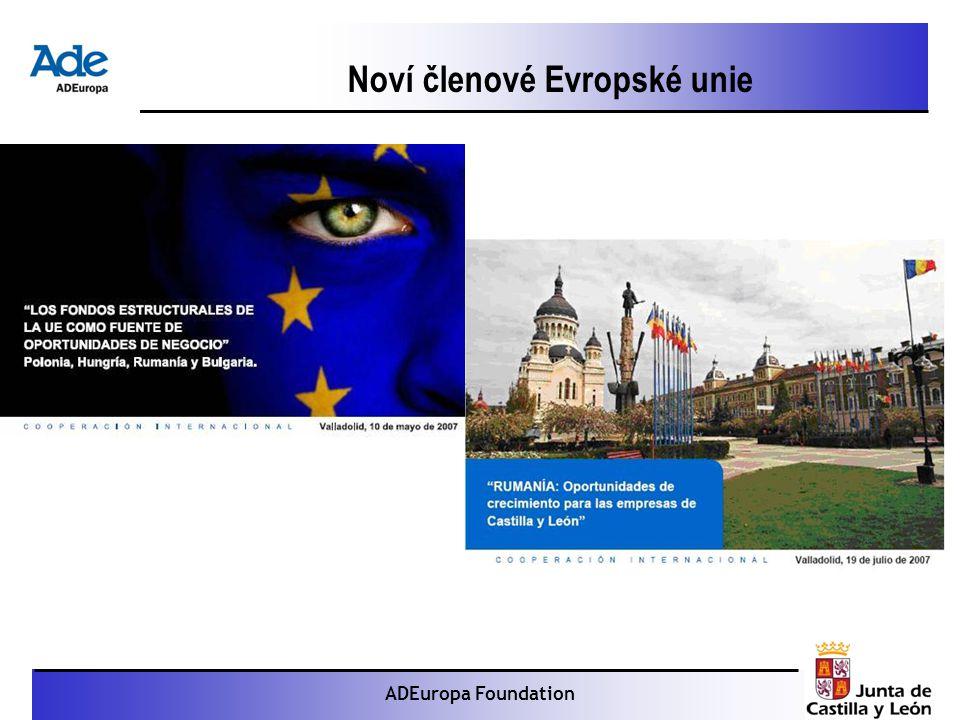 Proyecto: La foca monje ADEuropa Foundation Noví členové Evropské unie