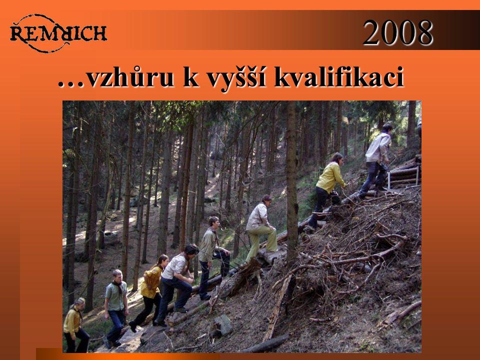 2008 …vzhůru k vyšší kvalifikaci
