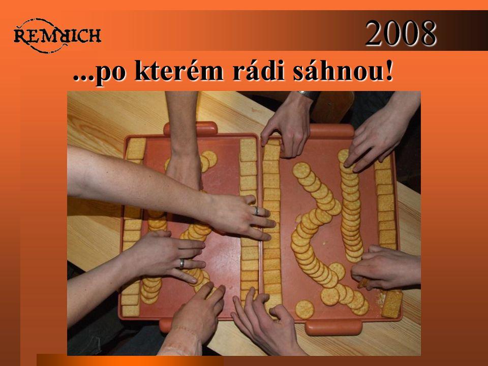 2008...po kterém rádi sáhnou!