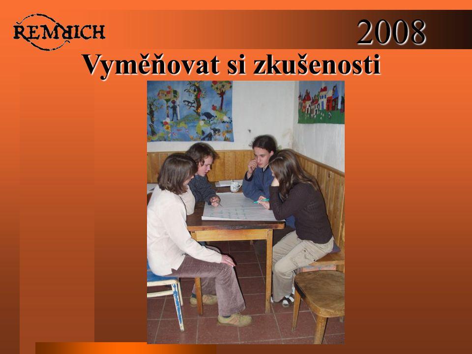 2008 Vyměňovat si zkušenosti