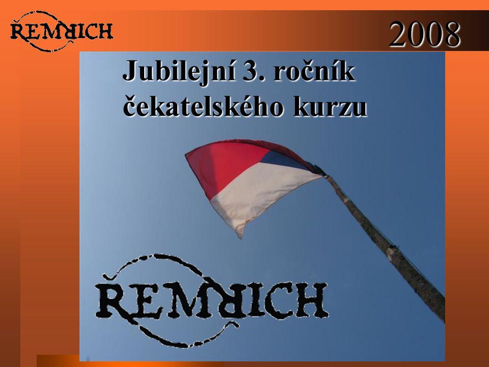 2008 Jubilejní 3. ročník čekatelského kurzu