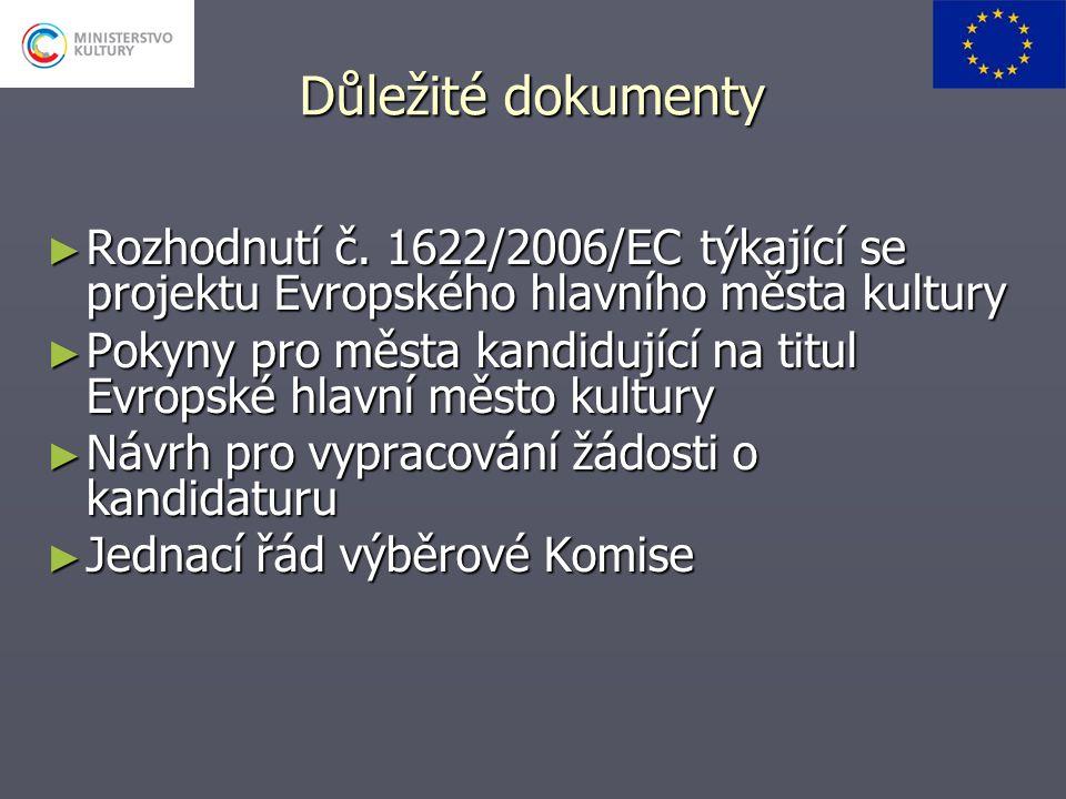 Důležité dokumenty ► Rozhodnutí č.