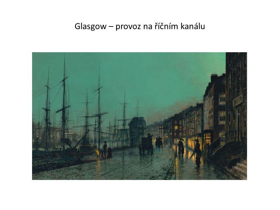 Glasgow – provoz na říčním kanálu
