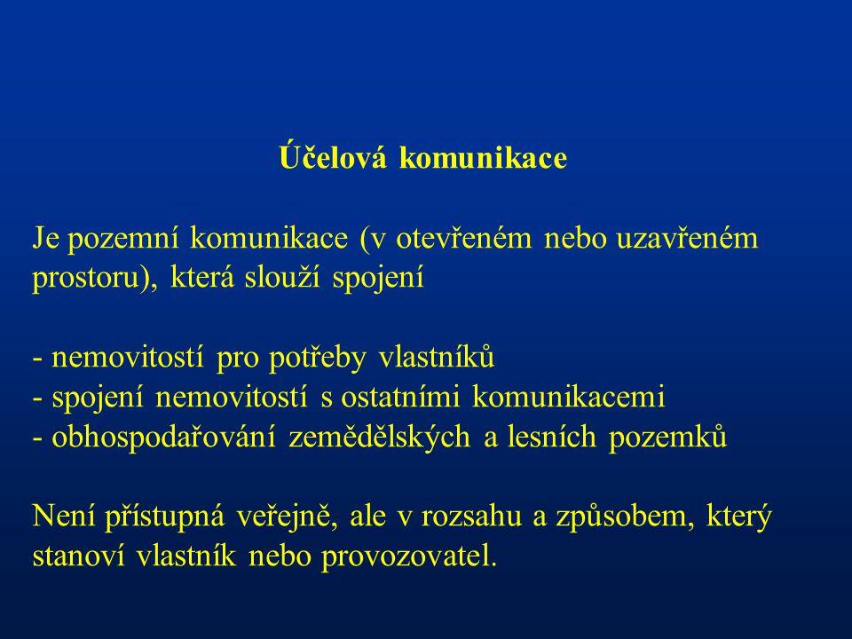 SILNIČNÍ OCHRANNÁ PÁSMA K ochraně D,S, MK I.a II.