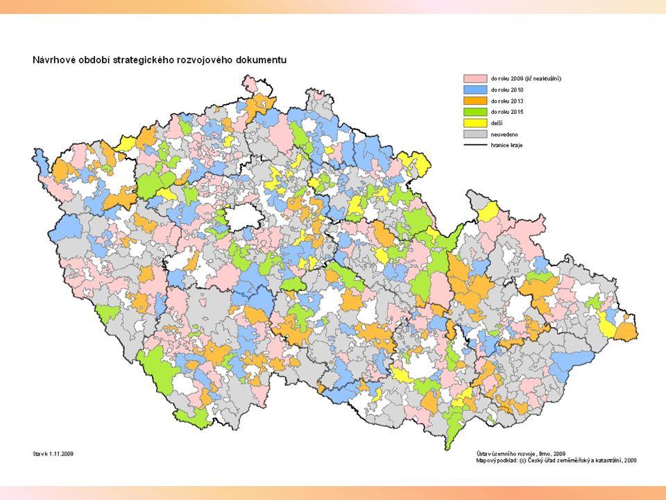 Z dlouhodobě prováděného monitoringu mikroregionů (DSO) vyplývají tyto základní obecné poznatky: Převážná většina evidovaných mikroregionů má právní formu svazku obcí (dle § 49 zákona č.128/2000 Sb.