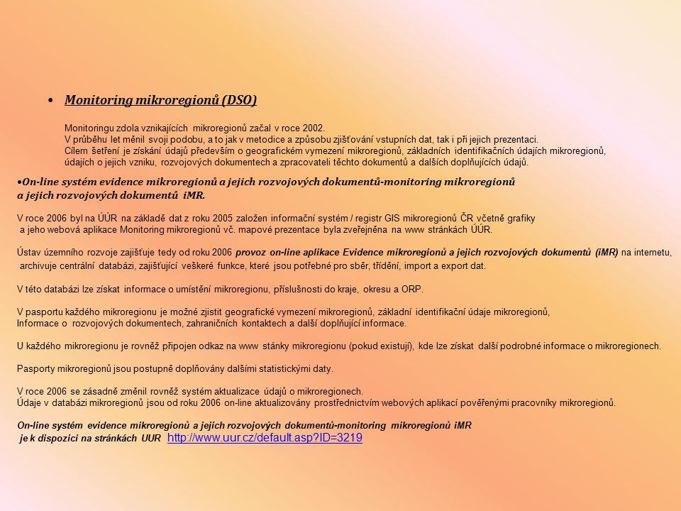 Metodická příručka pro zpracování rozvojových dokumentů mikroregionů.