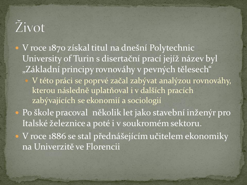 """V roce 1870 získal titul na dnešní Polytechnic University of Turin s disertační prací jejíž název byl """"Základní principy rovnováhy v pevných tělesech"""""""