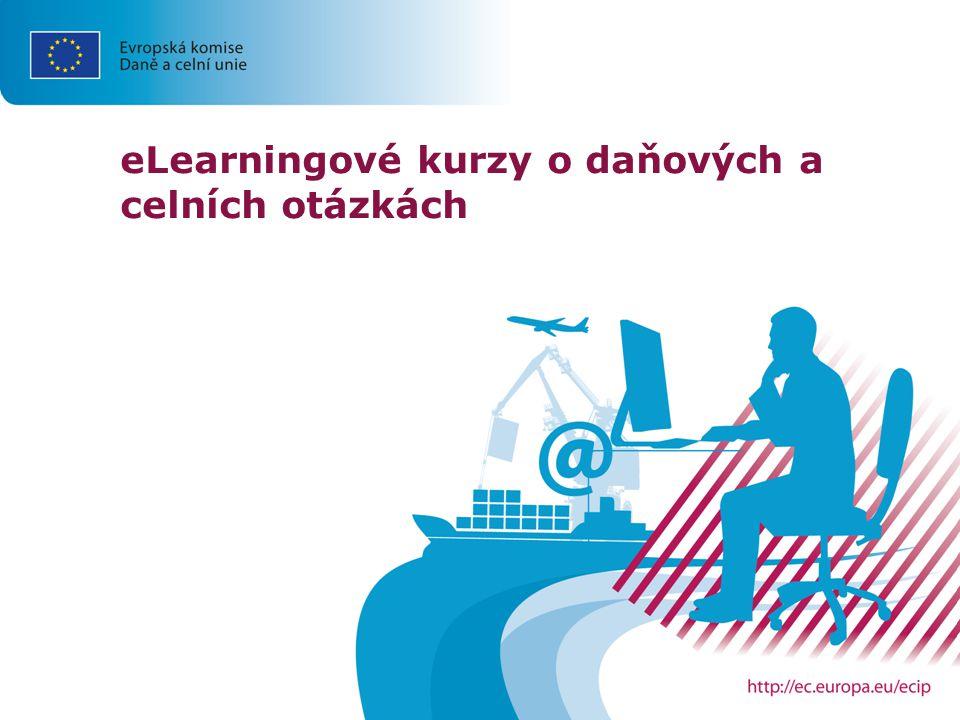 eLearningové kurzy o daňových a celních otázkách