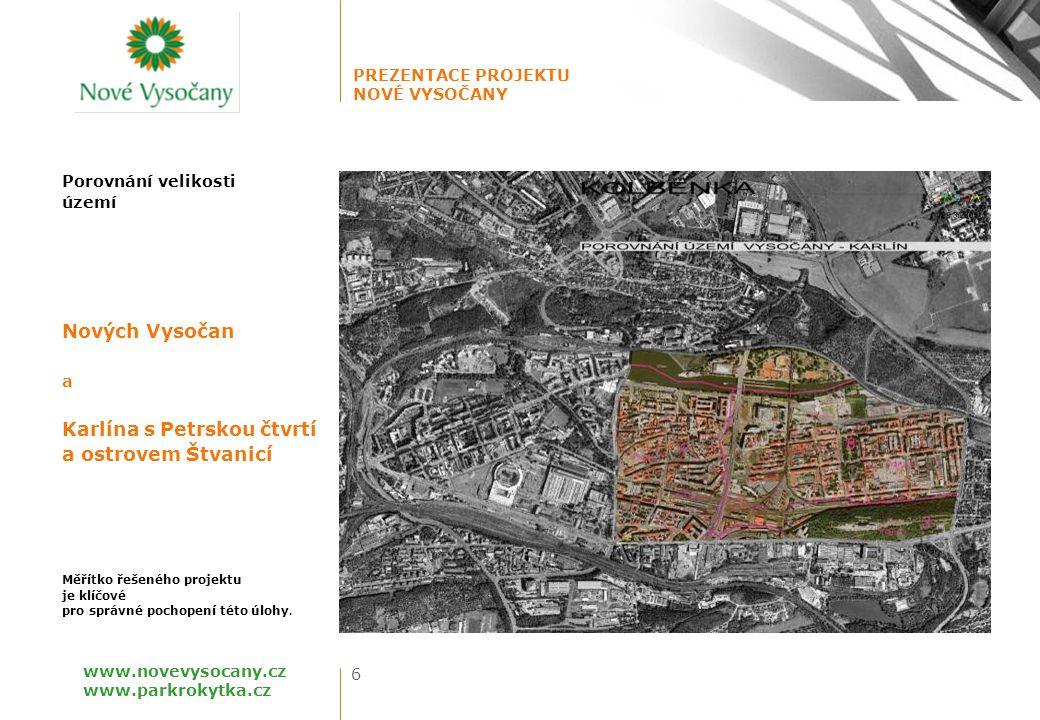 PREZENTACE PROJEKTU NOVÉ VYSOČANY 27 www.novevysocany.cz www.parkrokytka.cz Rokytka Park (IMOS development) JEDNOTLIVÉ PROJEKTY PARTNERŮ