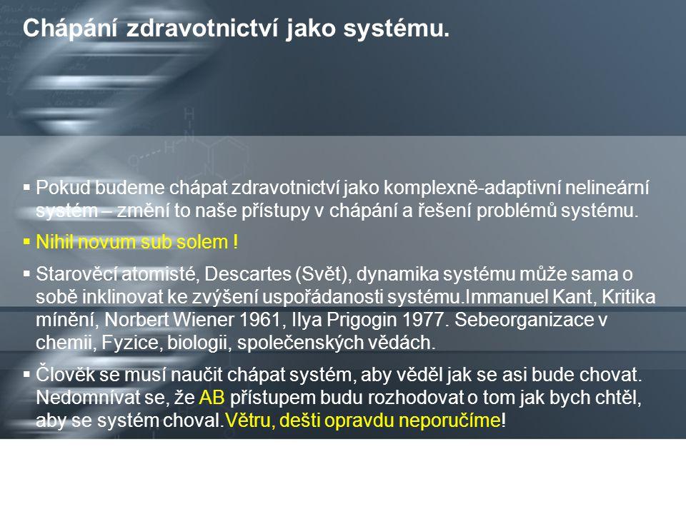 Page  13 Komplexní adaptivní systém. K.A. systém je zvláštním případem komplexních systémů.