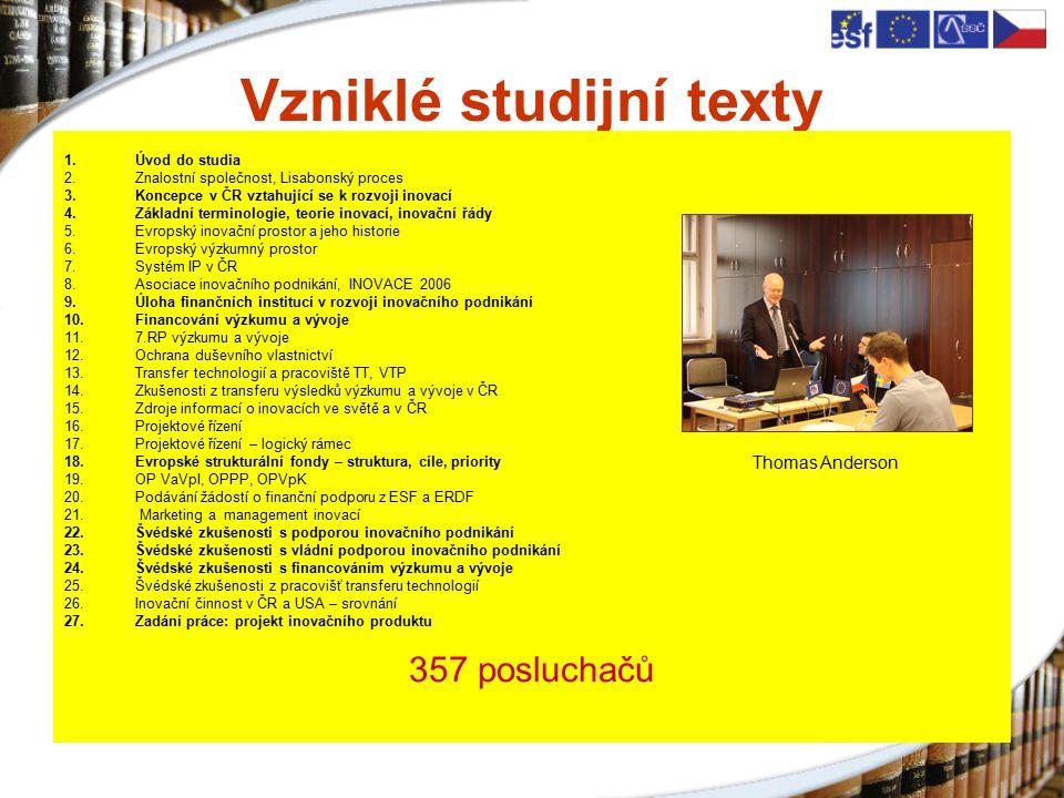 Udržitelnost SSČ AVČR, v.v.i., bude pokračovat (Liblice, Třešť, Ostrava) Podání žádosti - ESF Zájem i o placenou formu školení Zájem o udržování kontaktů s realizátory projektu – 83,3%