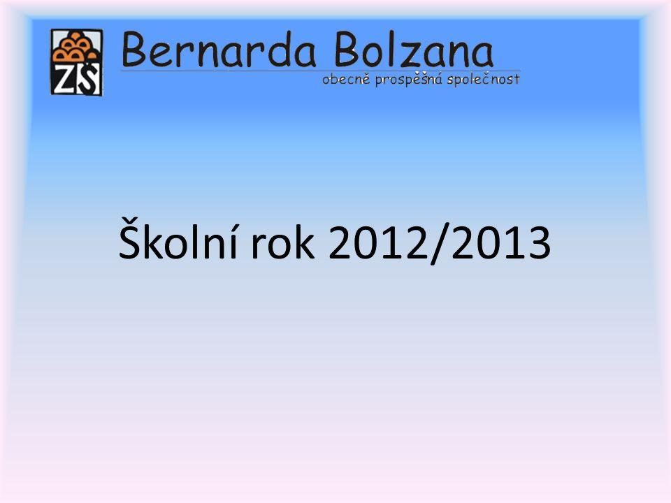 Školní rok 2012/2013