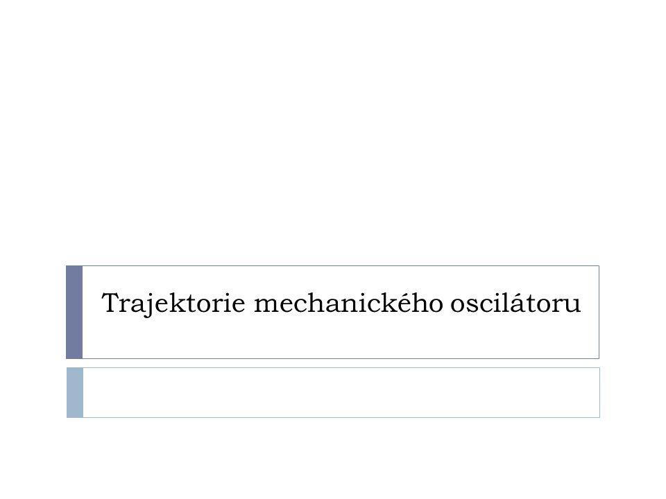 Trajektorie mechanického oscilátoru