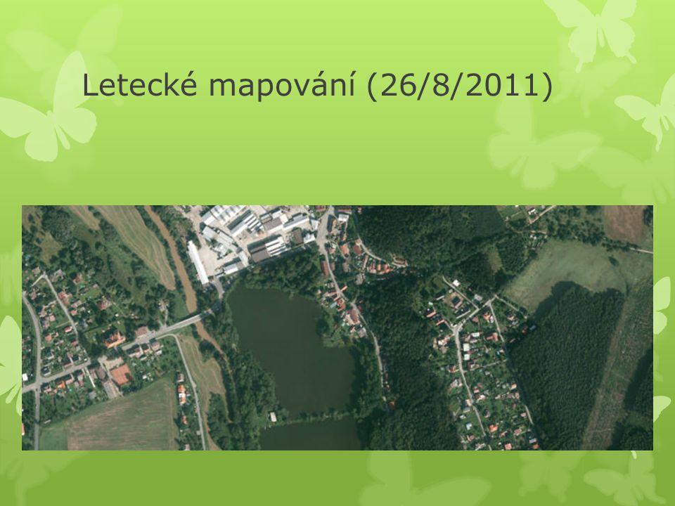 Letecké mapování (26/8/2011)