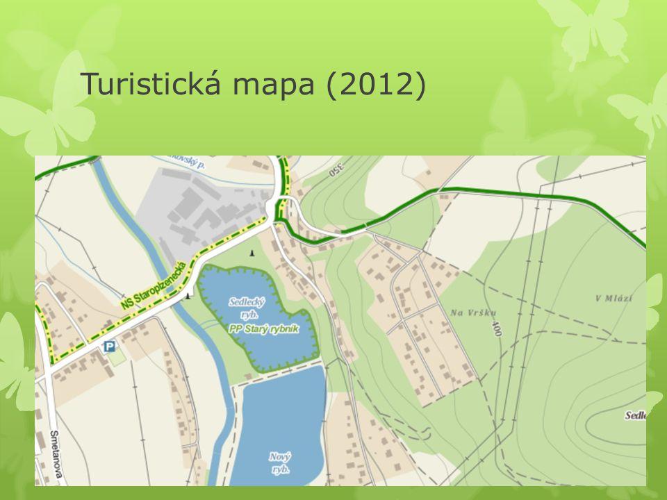 Turistická mapa (2012)