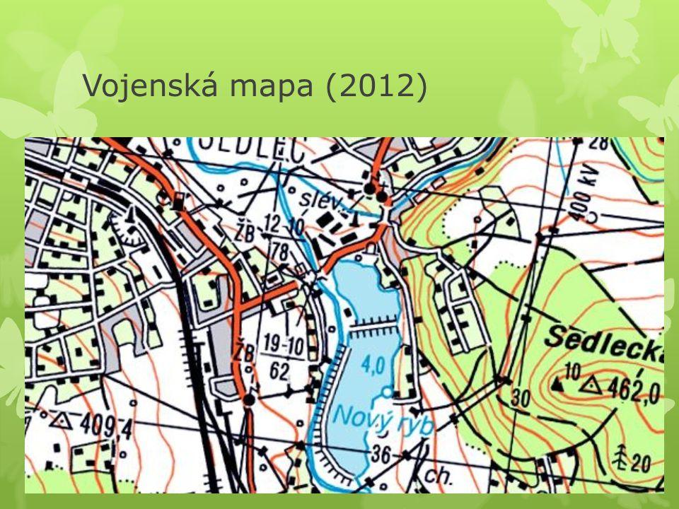 Vojenská mapa (2012)