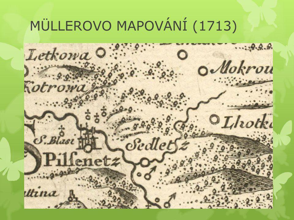 MÜLLEROVO MAPOVÁNÍ (1713)