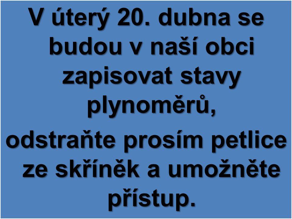 MUDr. Víšková oznamuje, že ve čtvrtek 22.4. 2010 neordinuje, akutní případy ošetří MUDr. Šultes.