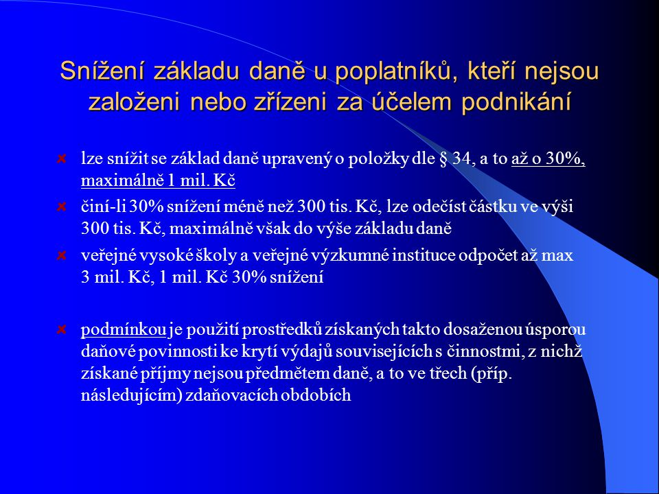 Dary poskytnuté fyzickými osobami § 15 DZP FO obcím, krajům, organizačním složkám státu, právnickým osobám se sídlem na území ČR, jakož i právnickým o