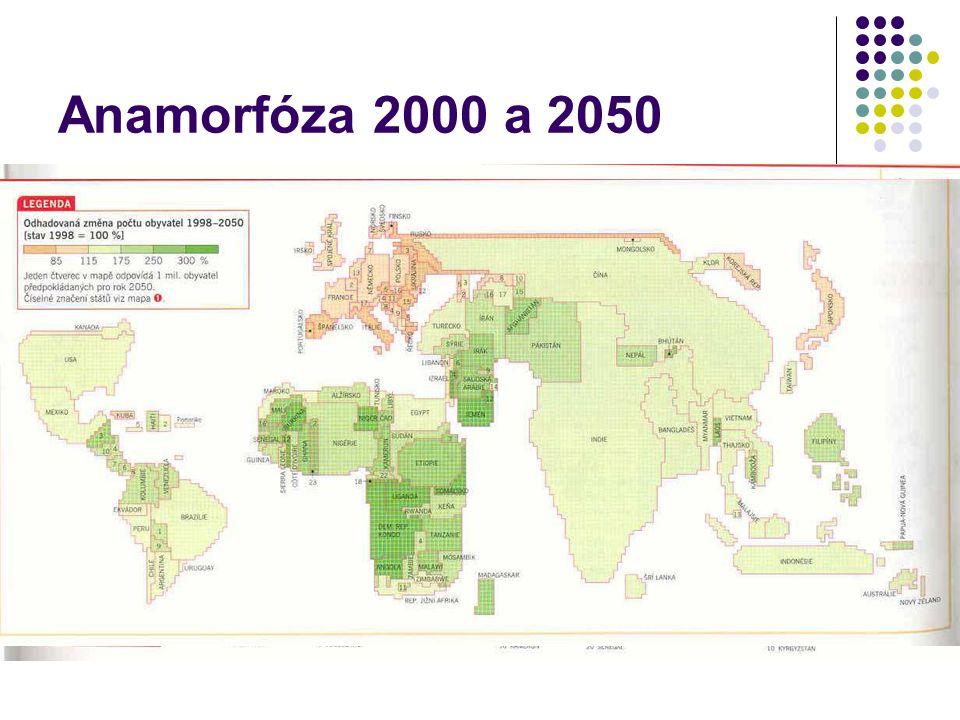 Anamorfóza 2000 a 2050