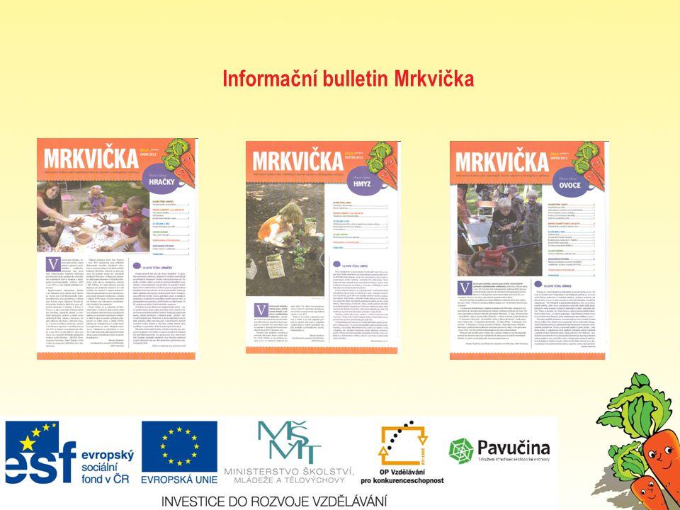 Informační bulletin Mrkvička