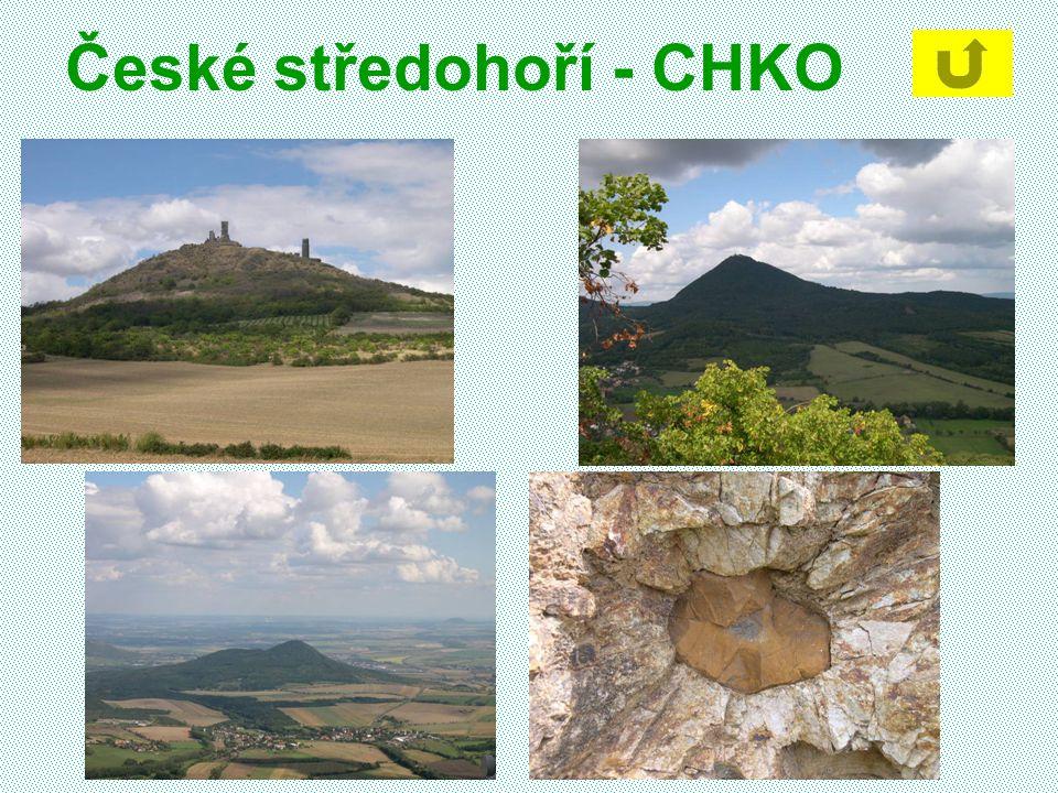 České středohoří - CHKO