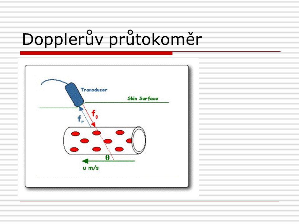 Dopplerův průtokoměr